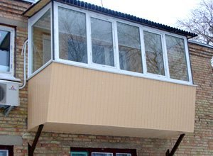 Балконы с выносом цена