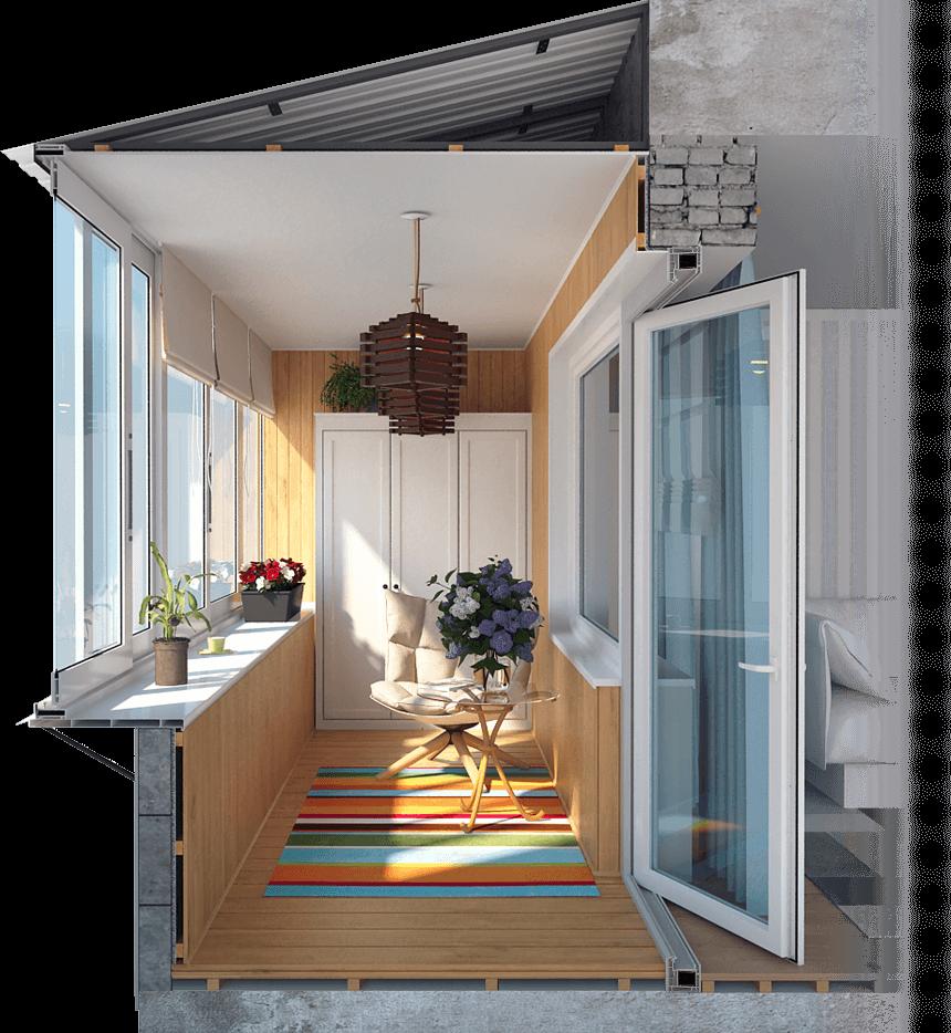 Металлопластиковые окна и остекление лоджии недорого Киев